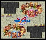 Art of Fighting 2 SNES Team select