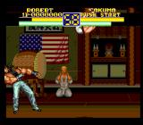 Art of Fighting 2 SNES That was a heavy blow, and another one will follow from the air