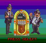 The Blues Brothers: Jukebox Adventure SNES Selecting the brother