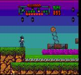 The Blues Brothers: Jukebox Adventure SNES As always, moving platforms on chains, spikes below...