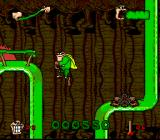 Boogerman: A Pick and Flick Adventure SNES Trying to jump over...