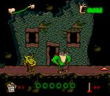 Boogerman: A Pick and Flick Adventure SNES Home sweet home... or is it?