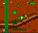Boogerman: A Pick and Flick Adventure SNES Mountain pass
