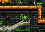 Boogerman: A Pick and Flick Adventure Genesis Sewer level