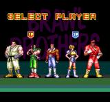 Brawl Brothers SNES Player select
