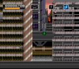 Choplifter III: Rescue Survive SNES Just wait till this paratrooper comes down...