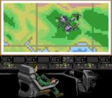 Choplifter III: Rescue Survive SNES Area map