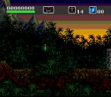 Choplifter III: Rescue Survive SNES Beautiful jungle scenery