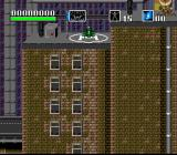 Choplifter III: Rescue Survive SNES City level