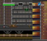 Choplifter III: Rescue Survive SNES Going further into the tall buildings...