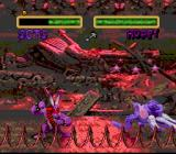 Clay Fighter 2: Judgement Clay SNES Beautiful reddish backgrounds