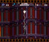 Cool World SNES Using your glove to climb the tower