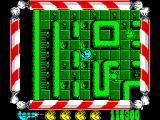 Mad Mix ZX Spectrum Bulldozer is good for cleaning infested blobs