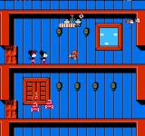 Mickey Mousecapade NES Avoid obstacles like these jumping chairs!