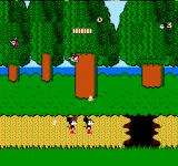 Mickey Mousecapade NES Lost somewhere in the woods...