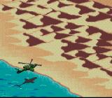 Desert Strike: Return to the Gulf SNES Approaching the coast...