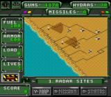 Desert Strike: Return to the Gulf SNES Overview map
