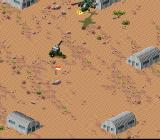 Desert Strike: Return to the Gulf SNES Uh-oh, this place is guarded
