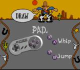 Disney's Toy Story SNES Funny configuration screen