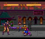 Double Dragon V: The Shadow Falls SNES Wow, you have such a long... arm