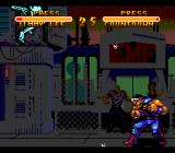 Double Dragon V: The Shadow Falls SNES I was hit, turned light blue, and jumped high!