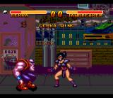 Double Dragon V: The Shadow Falls SNES Give up, you fatso!