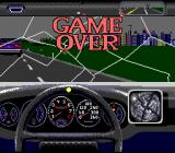 The Duel: Test Drive II SNES Game Over...