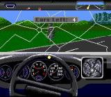 The Duel: Test Drive II SNES Oops... Tress are surely a nuisance