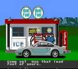 The Duel: Test Drive II SNES You'll get different messages depending on how well you drove