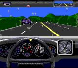 The Duel: Test Drive II SNES This level has more traffic