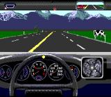 The Duel: Test Drive II SNES A cow. How wonderful