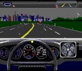 The Duel: Test Drive II SNES Nice city view