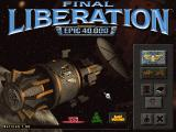 Final Liberation: Warhammer Epic 40,000 Windows Main Menu