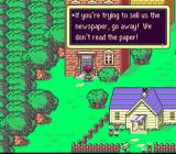 EarthBound SNES You can read lots of funny comments...