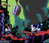 Earthworm Jim SNES A cow. Great