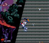 Earthworm Jim SNES Those pesky critters just won't let me climb normally!