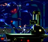 Earthworm Jim SNES Jim is shooting!