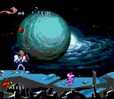 Earthworm Jim SNES Guiding this little fellow through the planet