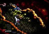 Earthworm Jim Genesis Using your whip against fish