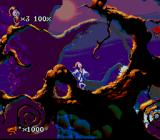 Earthworm Jim 2 SNES Jim looks confused