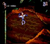 Earthworm Jim 2 SNES Ouch, it's hot in here!