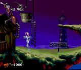 Earthworm Jim 2 SNES Nice house... and I can't get through