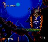 Earthworm Jim 2 SNES Be careful with your teeth!