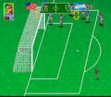Super Soccer Champ SNES Goal by penalty kick