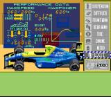 F1ROC: Race of Champions SNES Car menu