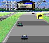 F1ROC: Race of Champions SNES The game conveniently tells you where the road will go