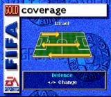 FIFA Soccer 97 SNES Setting up strategy for your team