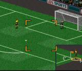 FIFA 98: Road to World Cup SNES Practice corner kicks