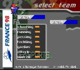 FIFA 98: Road to World Cup SNES Team statistics