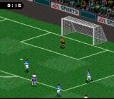 FIFA 98: Road to World Cup SNES Goaltender Ginzburg in control... for a change ;-)